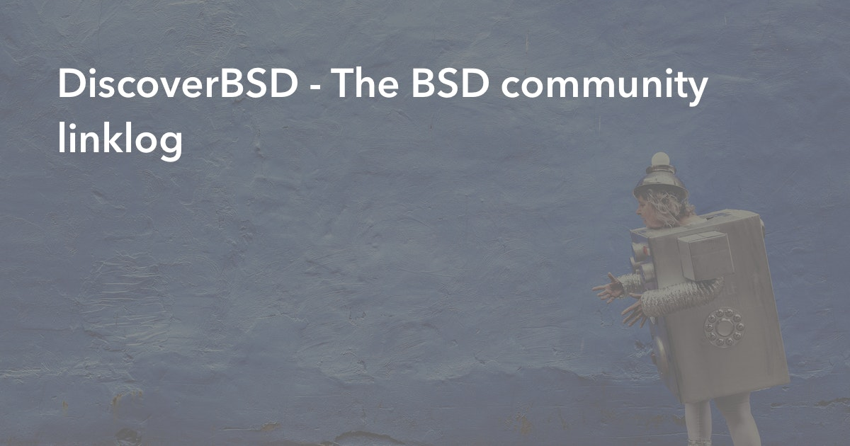DiscoverBSD - The BSD community linklog