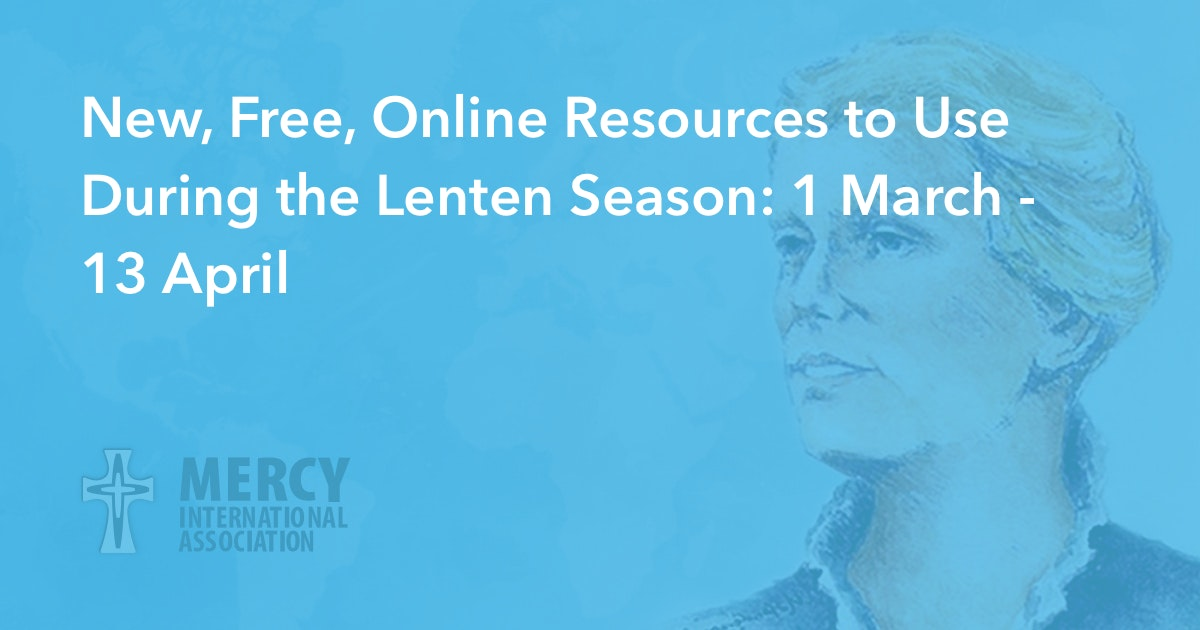 New, Free, Online Resources to Use During the Lenten Season: 1 March