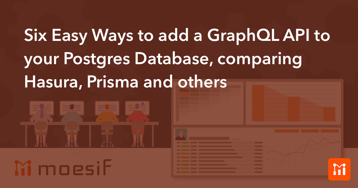 Six Easy Ways to add a GraphQL API to your Postgres Database